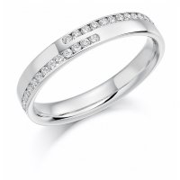 Guest and Philips - Platinum and Diamond Eternity Ring Size K
