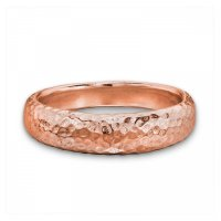 Dower and Hall - Rose Gold Plated Tapering Ring