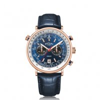 Rotary - Henley Rose Gold PVD Watch Size 42mm