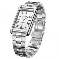 Rotary - Gents Stainless Steel Bracelet Cambridge