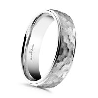 Guest and Philips - Platinum - Wedding Band, Size T