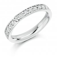 Guest and Philips - Platinum and Diamond Full Eternity Ring.