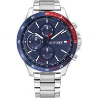 Tommy Hilfiger - Stainless Steel Day Date Watch