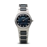 Bering - Ladies Ceramic, Stainless Steel Strap Watch
