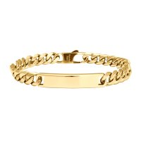 Son of Noa - Son, Stainless Steel - Shiny Gold Plated Bracelet Size 23cm