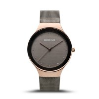 Bering - Classic, Stainless Steel Mesh Bracelet Watch