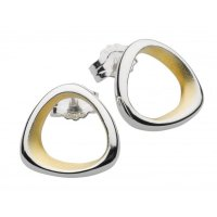 Kit Heath - Coast Shore, Sterling Silver Stud Earrings