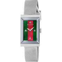 Gucci - Timepiece, Stainless Steel G-Frame Watch - YA147401