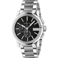 Gucci - Timepiece, Stainless Steel G-Chrono Watch