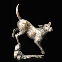 Richard Cooper - Foxhound, Bronze Ornament - 1050