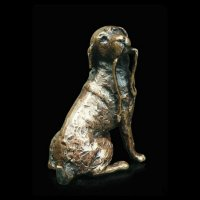 Richard Cooper - Labrador, Bronze Ornament - 2019