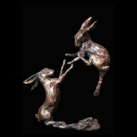 Richard Cooper - Pair Hares, Bronze Bronze  2012 - 2012