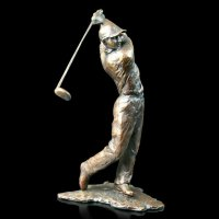 Richard Cooper - Golfer, Bronze 668 - 668