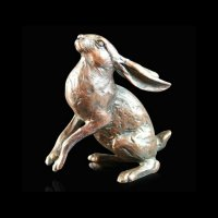 Richard Cooper - S Moon Gazing Hare, Ornament 914 - 914