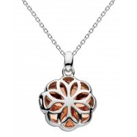 Kit Heath - Medeleine, Sterling Silver and 18ct. Rose Gold Plate Necklace