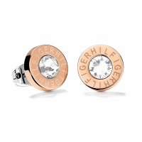Tommy Hilfiger - cz Set, Stainless Steel/Tungsten - Rose Gold Plated - Stud Earring