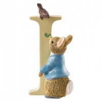 Enesco - Peter Rabbit, Alphabet, Initial I Figurine