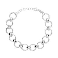 Links of London - Aurora, Silver Multi Link Bracelet