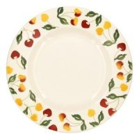 Emma Bridgewater - Summer Cherries, Pottery Plate, Size 10.5inch