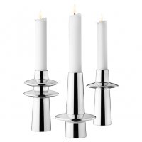 Georg Jensen - Stainless Steel UTH Candle Set