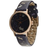 Radley - Fleet Street, Rose Gold Plate Leather Strap Watch