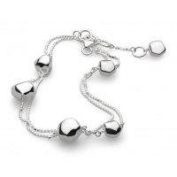 Kit Heath - Silver Coast Rokk Bracelet, Size 20cm