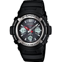 Casio - G-Shock, Resin and Stainless Steel Radio Controlled, Solar Powered, Multi-function Watch