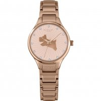 Radley - On The Run , Rose Gold Link Bracelet Watch