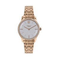 Radley - Millbank, Cubic Zirconia Set, Rose Gold Plated Bracelet Watch
