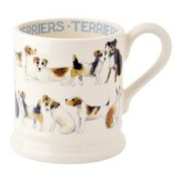 Emma Bridgewater - Terrier All Over, 1/2 Pint Mug