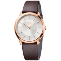 Calvin Klein - Minimal, PVD Plating/Rose Gold Ladies Watch