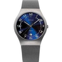 Bering - Classic, Titanium Case/Stainless Steel Bracelet Watch