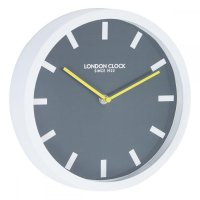 London Clock - White Pop Wall Clock