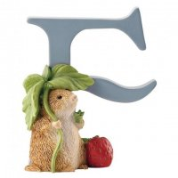 Enesco - Timmy Willie, Alphabet, Initial F Figurine