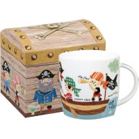 Churchill - Pirates Mug in Chest Shaped Box
