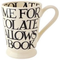Emma Bridgewater - Black Toast All Over Pottery Cocoa Mug