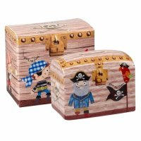 Churchill - Pirates Treasure Chest Money Box
