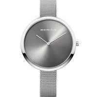 Bering - Ladies Classic, Stainless Steel Milanese Bracelet Watch