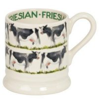 Emma Bridgewater - Friesian 1/2 Pint Pottery Mug