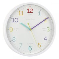 London Clock - Tell The Time White Wall Clock