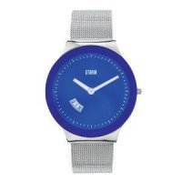 Storm - Men's, Silka Lazer Blue, Stainless Steel Blue Dial Watch