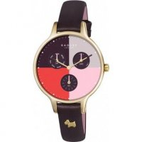 Radley - Abbey, Leather and Stainless Steel Multicolour Watch