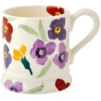 Emma Bridgewater - Wallflower, Pottery Mug, Size 1/2 Pint