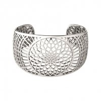 Links of London - Timeless, Silver Cuff Bangle