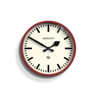 Newgate - The Luggage, Red Wall Clock