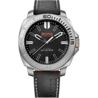 Hugo Boss - Orange Men's Sao Paulo, Stainless Steel and Leather Watch
