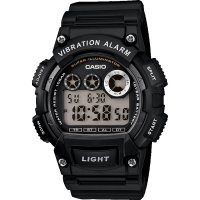 Casio - Black Resin Multi-Function Digital Watch