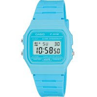 Casio - Blue Silicone Digital Watch