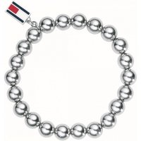 Tommy Hilfiger - Stainless Steel Beaded Bracelet