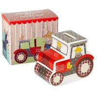 Churchill - Ceramic Old McDonald Tractor Money Box